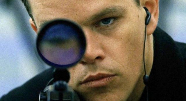 Jason Bourne... shoots people and listens to Good Gardening podcasts at the same time.
