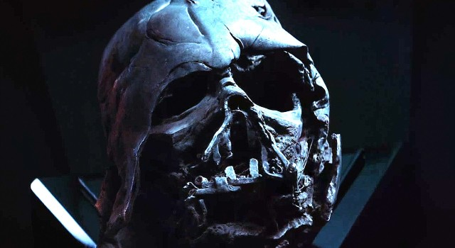See? Even Darth Vader gets a hangover - and seriously needs a dentist.